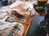 Los tarros esterilizados // Sterilized jars