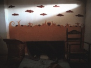 Las nubes en mi cuarto // The clouds in my room