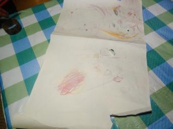 dibujando a pachas